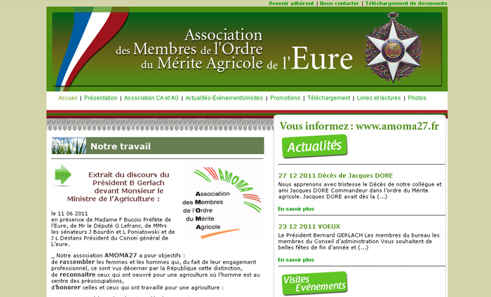 creation site internet association