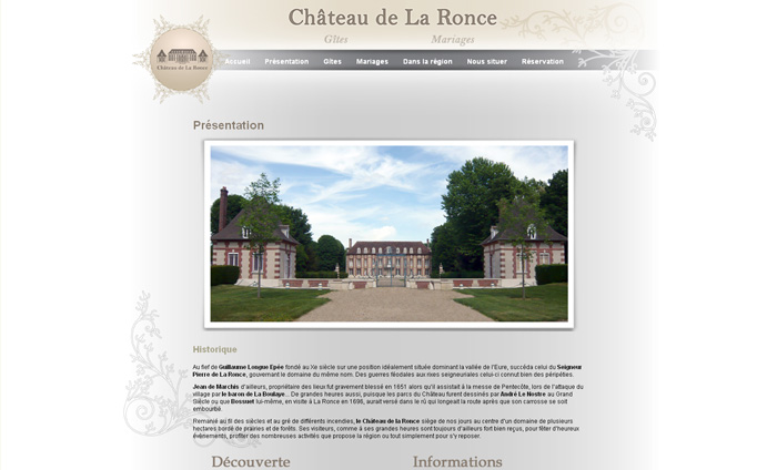 creation site internet gite