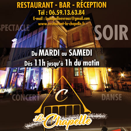 creation flyer pour restaurant bar et snack