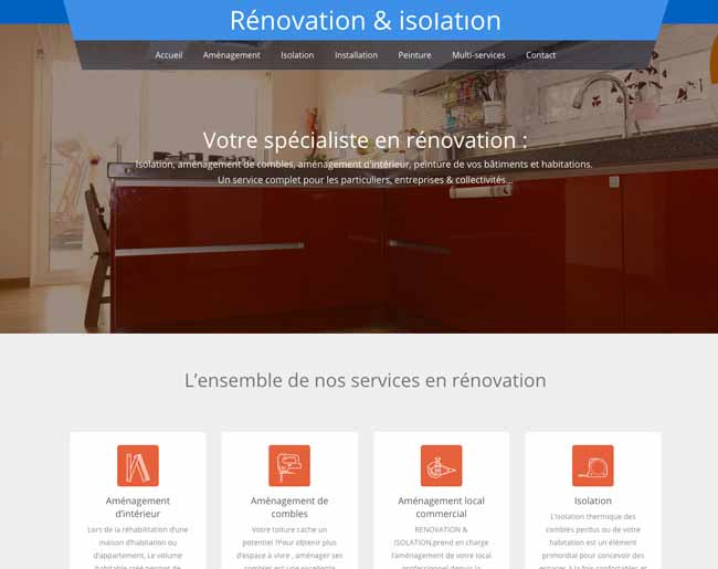 Rénovation & isolation