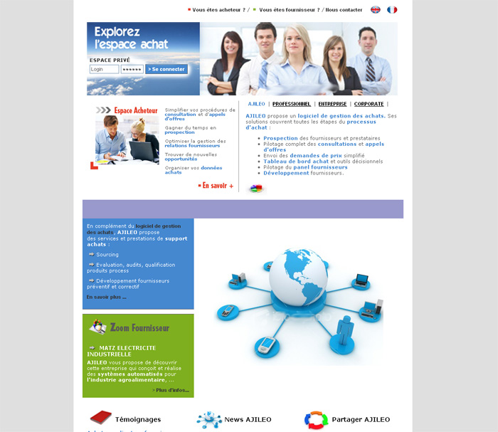creation site internet entreprise