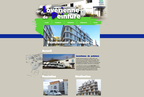 13e12c76b73 création Site internet entreprise - Lapilazuli - création site ...