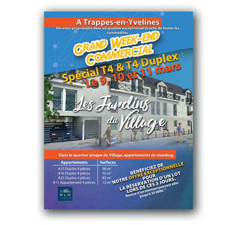 flyer agence immobilière