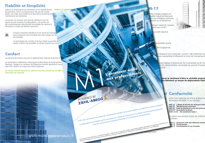 Connu plaquette présentation entreprise - Lapilazuli - création  DN45