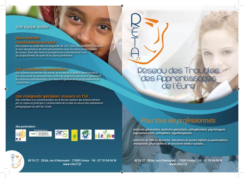 Bien-aimé création plaquette institutionnelles - Lapilazuli - création  HB95