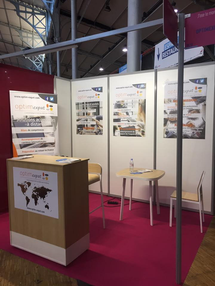 Conception stand pour salon formation
